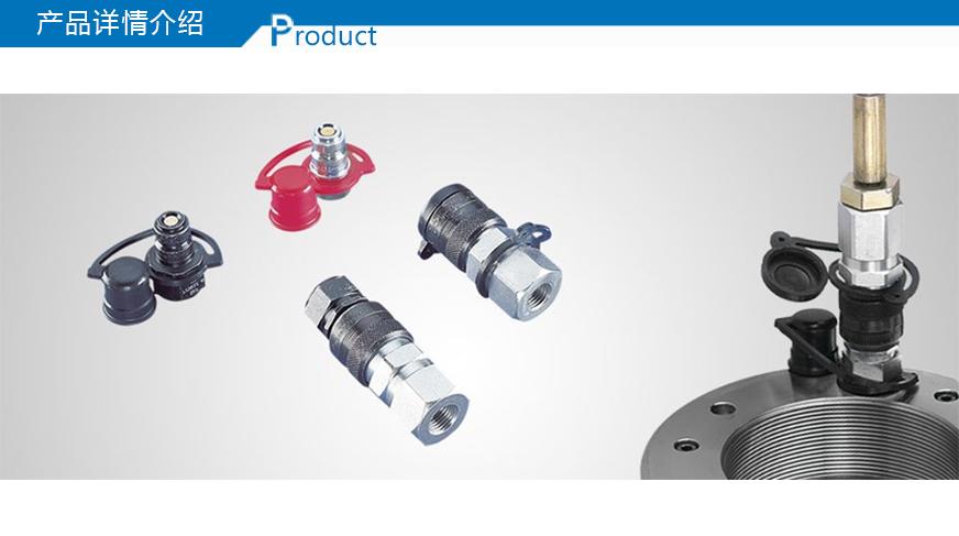 详细介绍 凭借一个耦合接头和两个不同的 螺纹接头,就可将 skf 液压泵图片